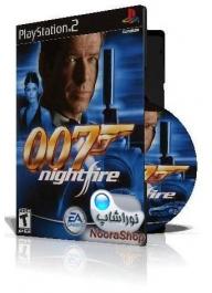 007Nightfire با کاور کامل و چاپ روی دیسک