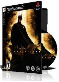 Batman Begins  با کاور کامل و چاپ روی دیسک