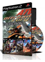 ATV Offroad Fury چهارعدد بازی با قاب وچاپ روی دیسک