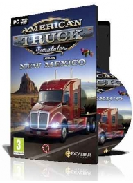 بازی شبیه ساز (American Truck Simulator New Mexico (1DVD