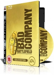 (Battlefield Bad Company Gold Edition PS3 (2DVD