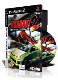 Burnout 2 Point of Impact با کاور کامل و چاپ روی دیسک