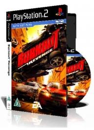 Burnout Revenge ps2 با کاور کامل و چاپ روی دیسک