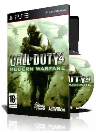 (Call of Duty Modern Warfare PS3 (2DVD