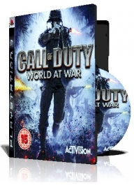 (Call of Duty World at War PS3 (3DVD