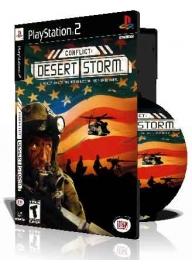 Conflict Desert Storm با کاور کامل و چاپ روی دیسک