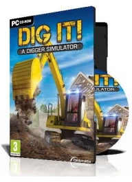 بازی زیبای (DIG IT! A Digger Simulator 2014 (1DVD