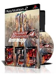 Dynasty Warriors 4 Anthology سه عدد بازی با قاب وچاپ روی دیسک