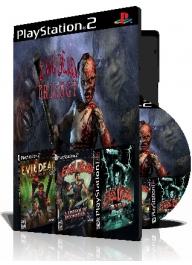 Evil Dead Trilogy سه عدد بازی با قاب وچاپ روی دیسک