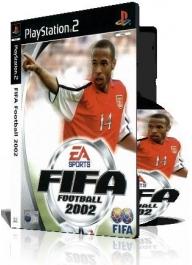 FIFA FOOTBALL 2002 PS2 با کاور کامل و چاپ روی دیسک