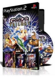 Grandia Trilogy سه عدد بازی با قاب وچاپ روی دیسک