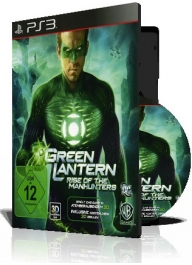 (Green Lantern Rise Of The Manhunters PS3 (1DVD