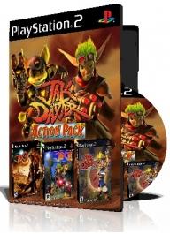 Jak Action pack سه عدد بازی با قاب وچاپ روی دیسک