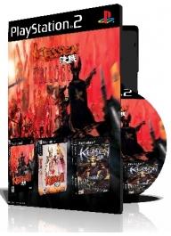 Kessen Trilogy سه عدد بازی با قاب وچاپ روی دیسک