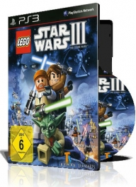 (LEGO Star Wars III The Clone Wars PS3 (2DVD