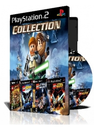 Lego Collection چهار عدد بازی با قاب وچاپ روی دیسک