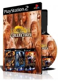 Lord Of The Rings Collection سه عدد بازی با قاب وچاپ روی دیسک