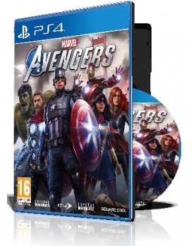 Marvel Avengers pc 18 DVD