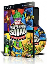 (Marvel Super Hero Squad The Infinity Gauntlet PS3 (2DVD