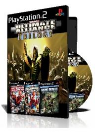 Marvel Trilogy سه عدد بازی با قاب وچاپ روی دیسک