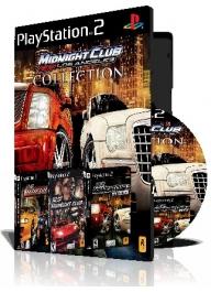 Midnight Club سه عدد بازی با قاب وچاپ روی دیسک