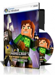 (Minecraft Story Mode Episode 1-2-3-4-5-6 (1DVD