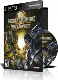 (Mortal Kombat vs DC Universe PS3 (2DVD