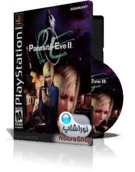 Parasite Eve II با کاور کامل و چاپ روی دیسک