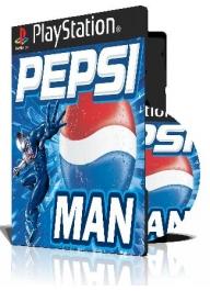 Pepsi Man با کاور کامل و چاپ روی دیسک
