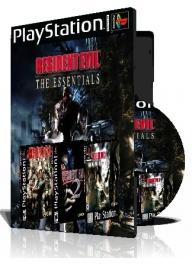Resident Evil ps1 The Essentials سه عدد بازی با قاب وچاپ روی دیسک