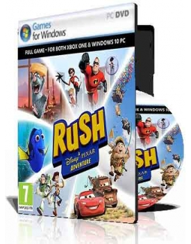 خرید بازی (Rush A DisneyPixar Adventure (2DVD