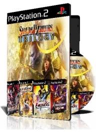 Samurai Warriors Trilogy چهار عدد بازی با قاب وچاپ روی دیسک