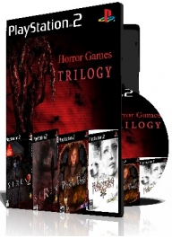 Horror Games Trilogy چهار عدد بازی با قاب وچاپ روی دیسک
