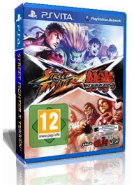 بازی مبارزه ای Street Fighter X Tekken PS Vita