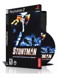 Stuntman با کاور کامل و چاپ روی دیسک