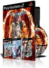 Suikoden Trilogy سه عدد بازی با قاب وچاپ روی دیسک