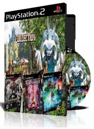 Summoner Collection سه عدد بازی با قاب وچاپ روی دیسک