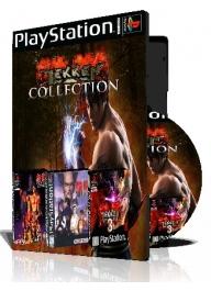 Tekken PS1 Collection سه عدد بازی با قاب وچاپ روی دیسک