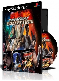 Tekken Collection سه عدد بازی با قاب وچاپ روی دیسک