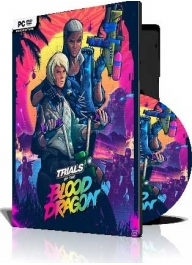 بازی موتور سواری (Trials of the Blood Dragon (3DVD