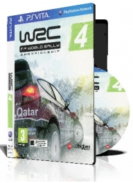 WRC 4 FIA WORLD RALLY CHAMPIONSHIP با کاور کامل
