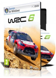 نسخه کرک شده و 100% سالم (WRC 6 FIA World Rally Championship (4DVD