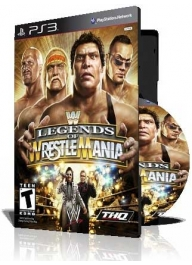 بازی (WWE Legends of WrestleMania PS3 (4DVD
