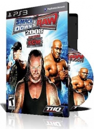 (WWE Smackdown Vs Raw 2008 PS3 (2DVD