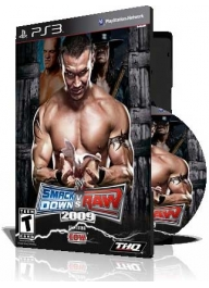 (WWE Smackdown Vs Raw 2009 PS3 (3DVD