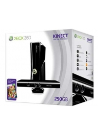XBOX 360 250GB Bandel With Kinect New Slim