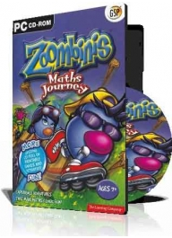 فروش بازی کارتونی (Zoombinis (1DVD