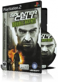 Splinter Cell Double Agent PS2 با کاور کامل و چاپ روی دیسک