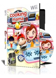 بازی cooking mama world برای وی