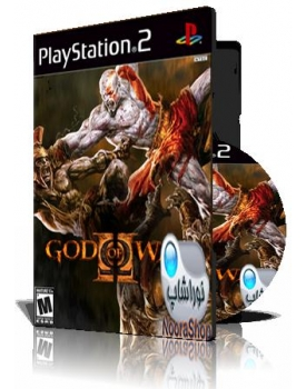 God Of war II با کاور کامل و قاب وچاپ روی دیسک